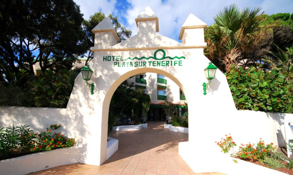 Puerta Principal ,Hotel Playa Sur Tenerife