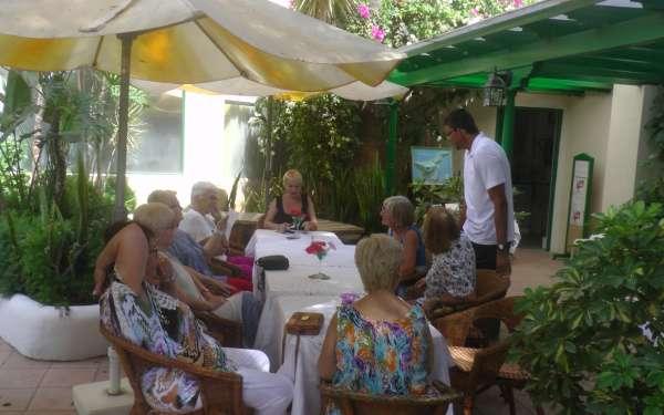 Gartencafe3 Hotel Playa Sur Tenerife