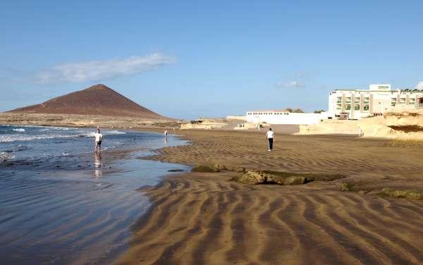 Hotel Playa Sur Tenerife y la Playa del el Medano/Montaña Roja