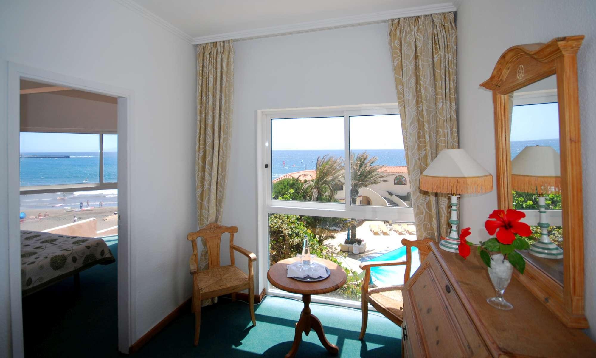 Suite con Vista Mar y Jardin