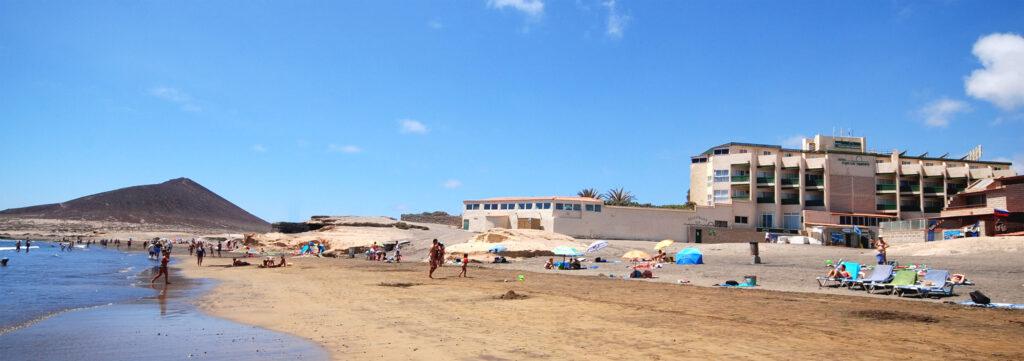 HotelPlayaSurTenerife vom Strand El Medano